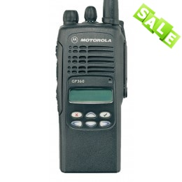 Motorola GP360 UHF (Волна-301, комплект с ЗУ)